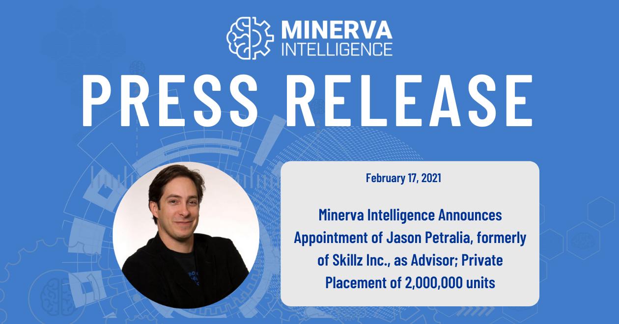 Jason Petralia Press Release