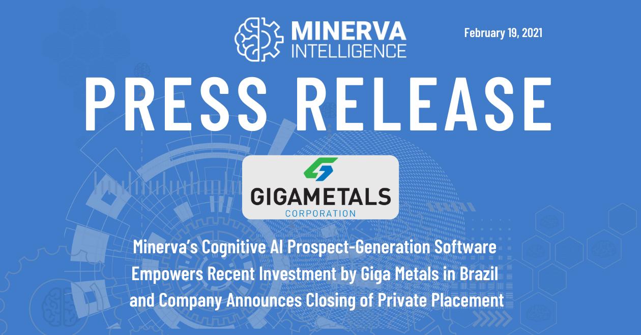 Minerva - Giga Press Release 2021-02-19